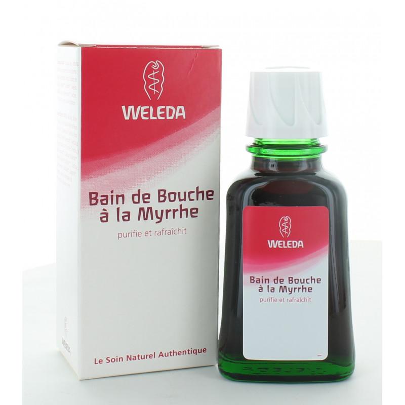Weleda Bain de Bouche à la Myrrhe 50m