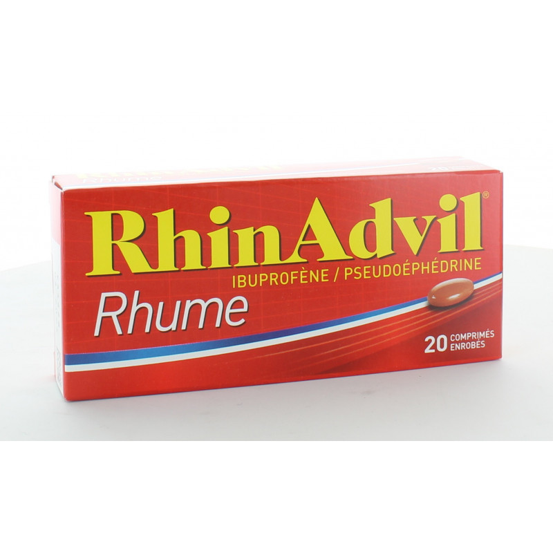 Rhinadvil Rhume 20 comprimés