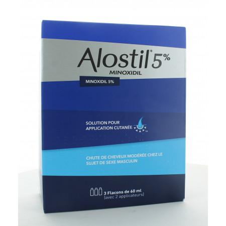 Alostil Minoxidil 5% 3X60ml