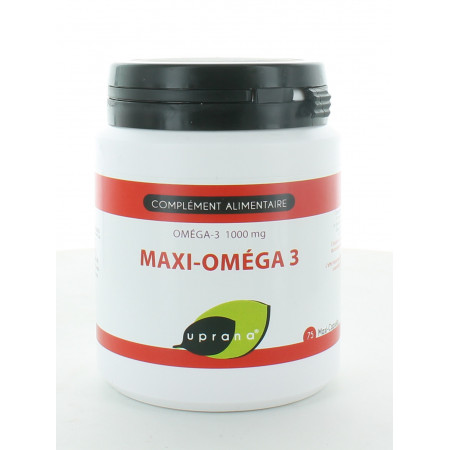 Uprana Maxi-Oméga 3 75 Maxi-capsules