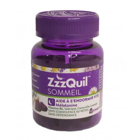 ZzzQuil Sommeil 30 gommes