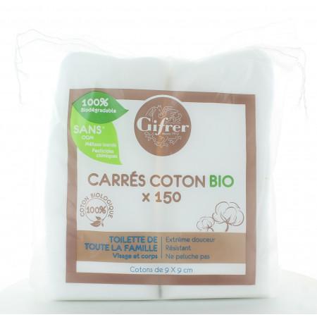 Gifrer Carrés Coton Bio X150
