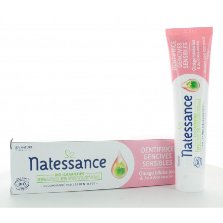Natessance Dentifrice Gencives Sensibles 75ml