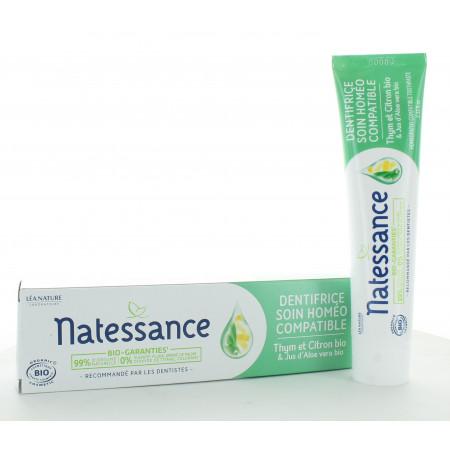 Natessance Dentifrice Soin Homéo Compatible 75ml