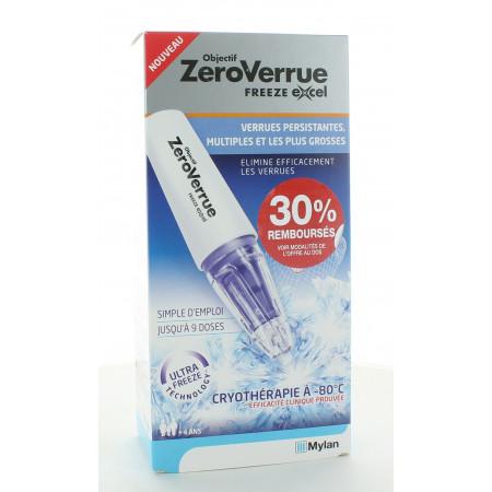 Objectif ZeroVerrue Freeze Excel 14,3g