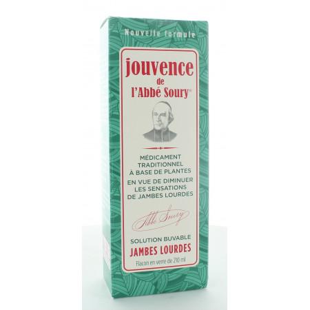 Jouvence de l'Abbé Soury Jambes Lourdes 210ml