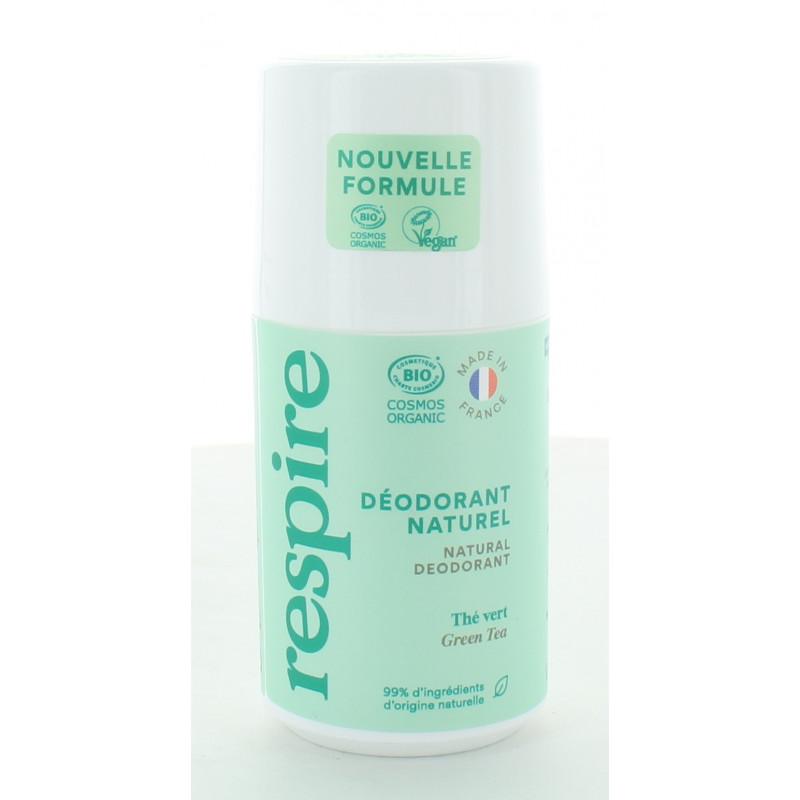 Respire Déodorant Naturel Thé Vert 50ml