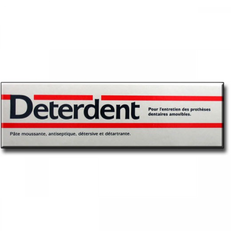 DETERDENT DENTIFRICE POUR DENTIER TUBE 75ML