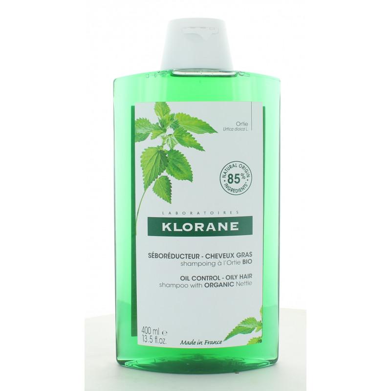 Klorane Shampooing à l'Ortie Bio 400ml