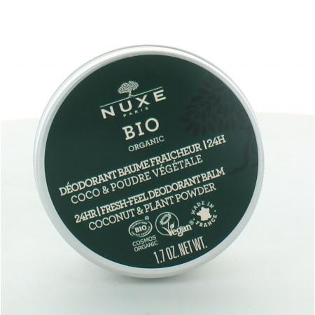 Nuxe Bio Déodorant Baume Fraicheur 24h 50g