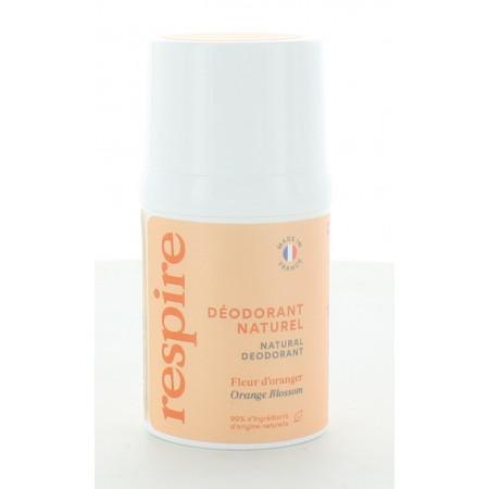 Respire Déodorant Naturel Fleur d'Oranger 15 ml
