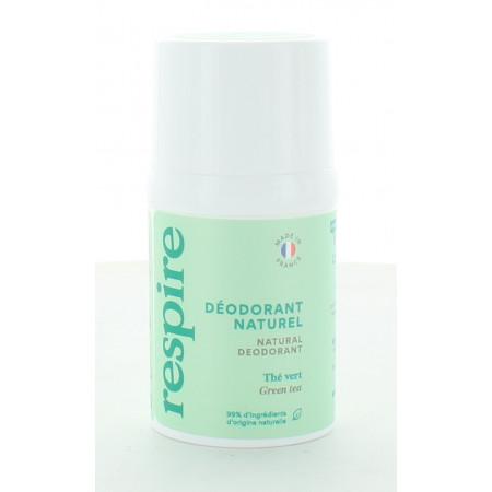 Respire Déodorant Naturel Thé Vert 15 ml