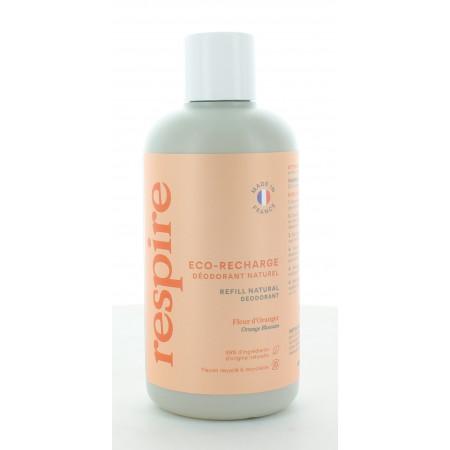Respire Éco-recharge Déodorant Naturel Fleur d'Oranger 150 ml
