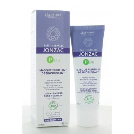 Jonzac Masque Purifiant Désincrustant 50 ml