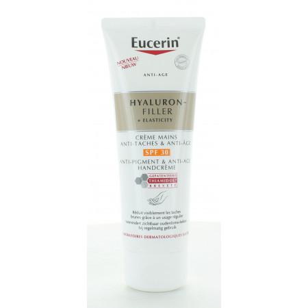 Eucerin Hyaluron-Filler + Elasticity Crème Mains Anti-taches SPF30 75ml