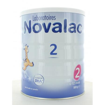 Novalac 2 6-12 mois 800g