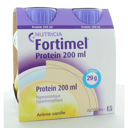Nutricia Fortimel Protein Arôme Vanille x4 200ml
