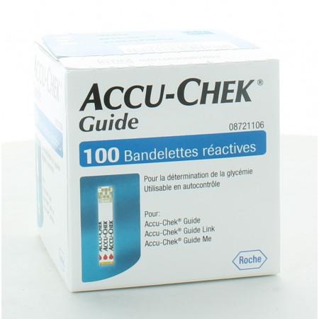 Accu-Chek Guide 100 bandelettes