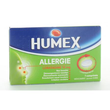 Humex Allergie Loratadine 10mg 7 comprimés