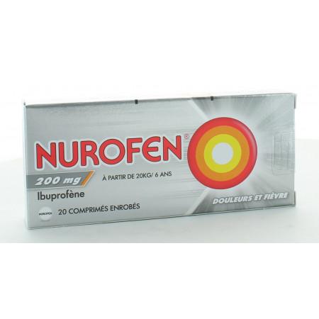Nurofen Ibuprofène 200mg 20 comprimés