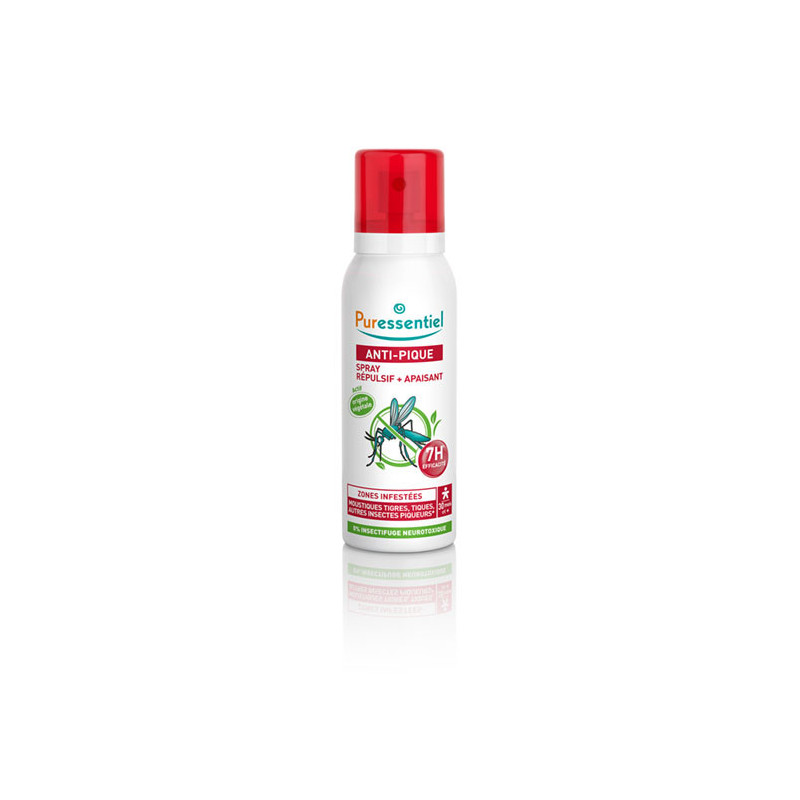 Puressentiel Spray Anti-pique 75ml + Roller Apaisant 5ml