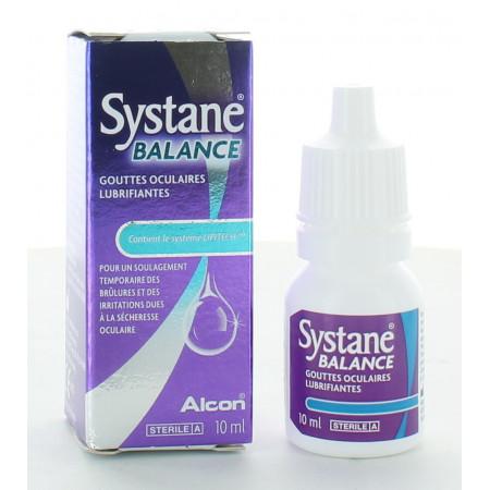 Systane Balance Gouttes Oculaires Lubrifiantes 10ml