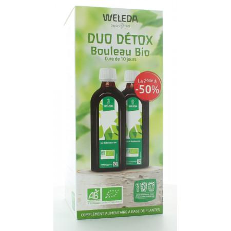 Weleda Duo Détox Bouleau Bio 2X250ml + 1 Bouteille Offerte