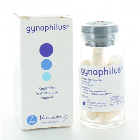 Gynophilus 14 capsules vaginales