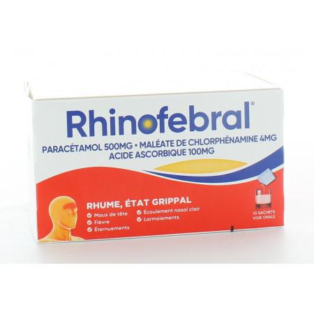 Rhinofebral 10 sachets