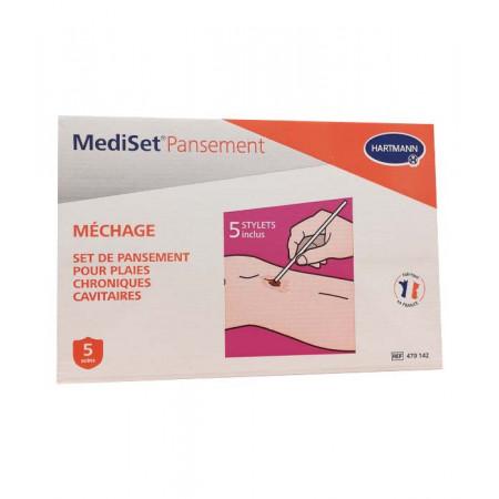 Hartmann MediSet Pansement Méchage 5 soins