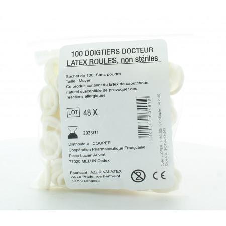 Doigtiers Docteur Latex X100