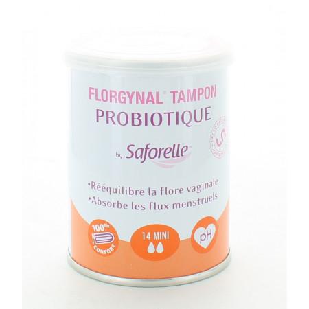 Saforelle Florgynal Tampons Probiotiques Mini X14
