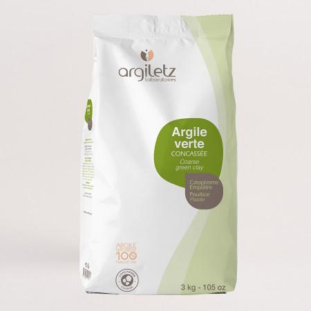 Argiletz Argile Verte Concassée 3kg