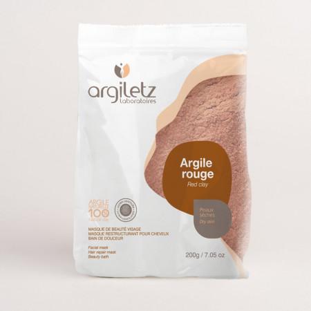 Argiletz Argile Rouge Peaux Sèches 200g