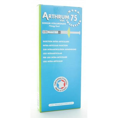 Artrhum Visc Sodium Hyaluronate 75mg/3ml