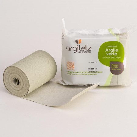 Argiletz Bandes Argile Verte X2