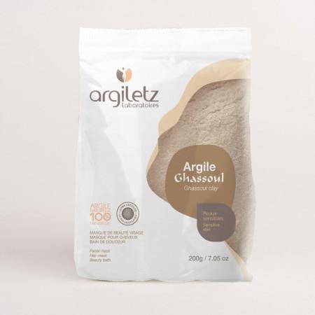 Argiletz Argile Ghassoul Ultra Ventilée 200g