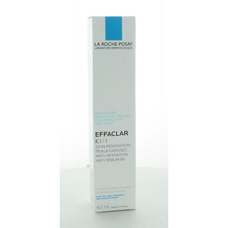 La Roche-Posay Soin Rénovation Peaux Grasses Effaclar K (+) 40 ml