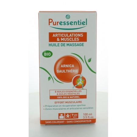 Puressentiel Huile de Massage Articulations et Muscles 100ml