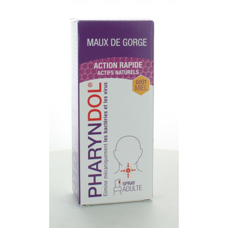Pharyndol Maux Gorge Action Rapide Spray 30ml