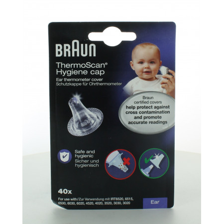 Braun ThermoScan Embout pour Thermomètre X40