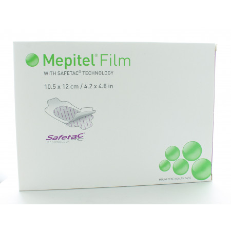 Mepitel Film 10,5 X 12cm 10 pièces