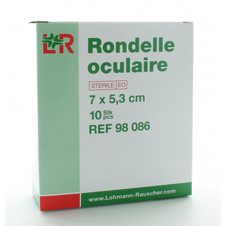 Rondelle Oculaire 7X5,3cm X10