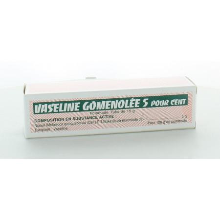 Vaseline Gomenolée 5% 15g