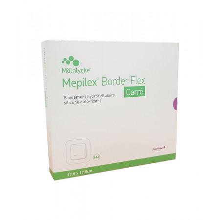 Mepilex Border Flex Carré 17,5X17,5cm 10 pièces