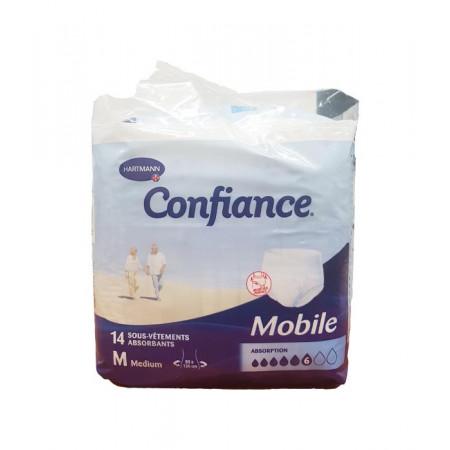 Confiance Mobile Taille M Niveau 6 14 sous-vêtements absorbants