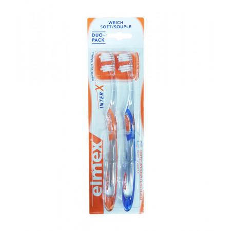 Elmex Brosse à Dents Inter X Souple X2