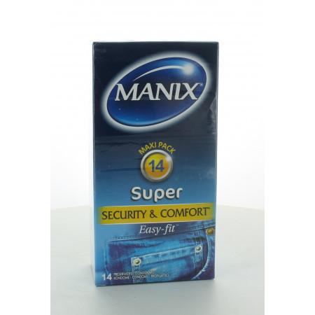 Manix Préservatifs Super Sécurité & Confort X14