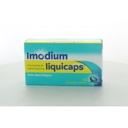Imodium Liquicaps 12 capsules