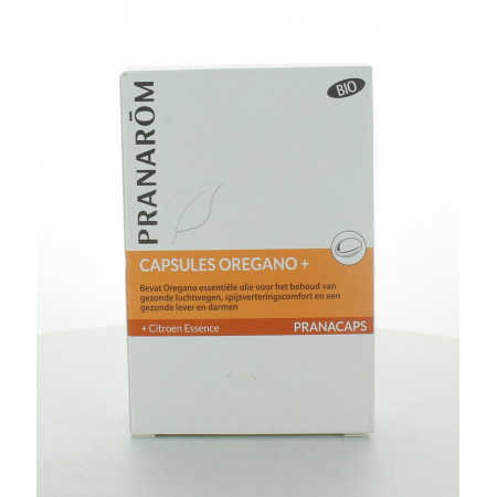 Pranarom Capsules Origan + 30 capsules
